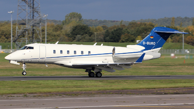 A picture of DBURO - Bombardier Challenger 300 - [20256] - © n94504
