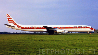 OY-SBK - Douglas DC-8-63(CF) - Sterling Airways