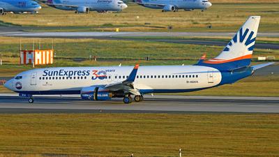 A picture of DASXA - Boeing 7378Z9 - SunExpress - © Sascha Kamrau