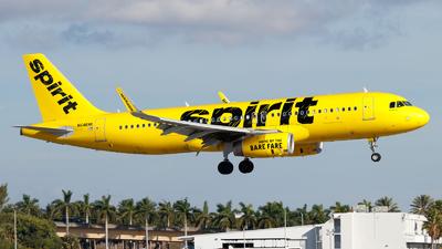 N646NK - Airbus A320-232 - Spirit Airlines