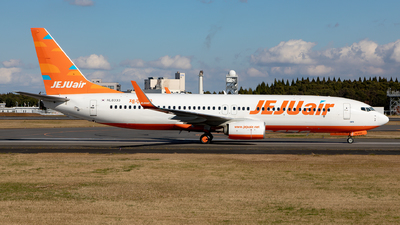 A picture of HL8333 - Boeing 7378JP - Jeju Air - © Sebastian Sowa