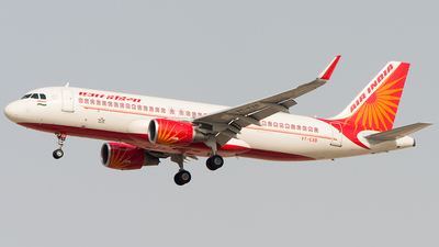 VT-EXB - Airbus A320-214 - Air India