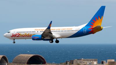 A picture of GJZHU - Boeing 7378MG - Jet2 - © Pablo Gonzalez de Leon