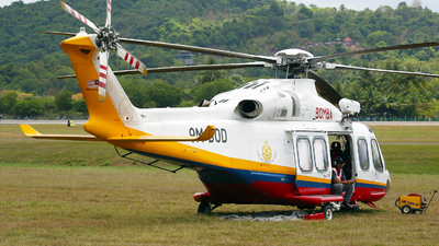9M-BOD - Agusta-Westland AW-139 - Malaysia - Fire and Rescue Department (Bomba)