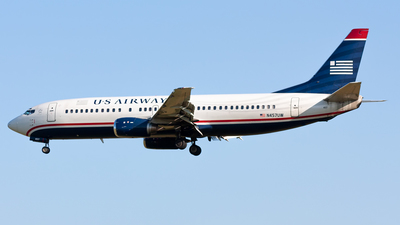 N457UW - Boeing 737-4B7 - US Airways