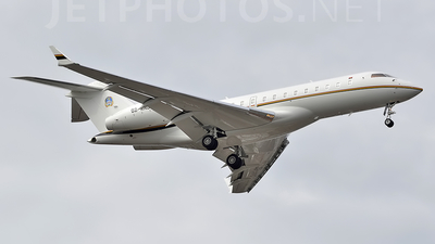 D2-ANG - Bombardier BD-700-1A10 Global Express XRS - Angola - Air Force