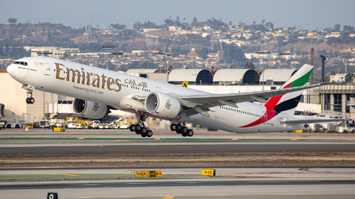 A picture of A6EQD - Boeing 77731H(ER) - Emirates - © Wes Loeffler