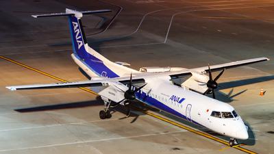 A picture of JA848A - De Havilland Canada Dash 8400 - All Nippon Airways - © shinya