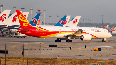 A picture of B1135 - Boeing 7879 Dreamliner - Hainan Airlines - © NSZJCuSO4