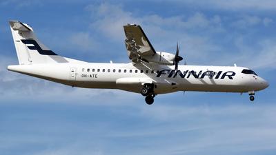 OH-ATE - ATR 72-212A(500) - Finnair (Nordic Regional Airlines NORRA)