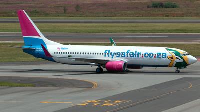 ZS-SJU - Boeing 737-844 - FlySafair