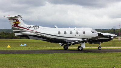 VH-BEV - Pilatus PC-12/47E - Private