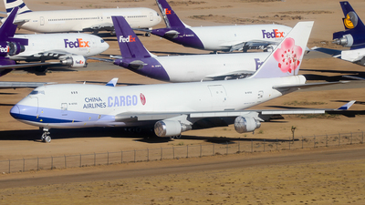 B-18702 - Boeing 747-409F(SCD) - China Airlines Cargo