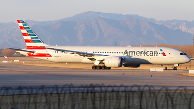 A picture of N828AA - Boeing 7879 Dreamliner - American Airlines - © Unbeliverpool