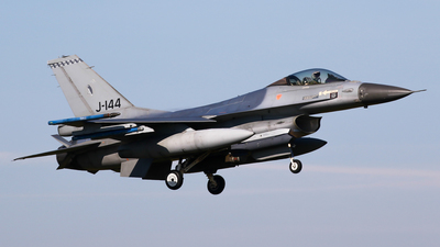 J-144 - General Dynamics F-16AM Fighting Falcon - Netherlands - Royal Air Force