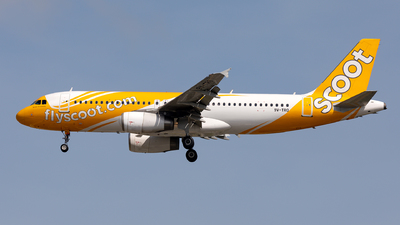 A picture of 9VTRO - Airbus A320232 - Scoot - © Sebastian Sowa