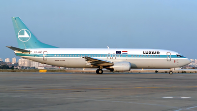 LX-LGF - Boeing 737-4C9 - Luxair - Luxembourg Airlines