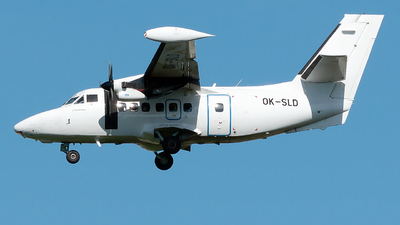 OK-SLD - Let L-410UVP-E20 Turbolet - Silver Air