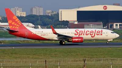 VT-SGQ - Boeing 737-8GJ - SpiceJet