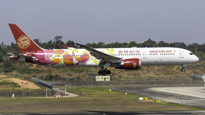 A picture of B20D1 - Boeing 7879 Dreamliner - Juneyao Airlines - © RainySora