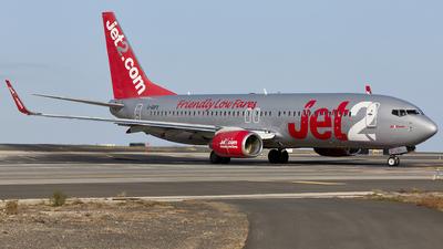 A picture of GGDFX - Boeing 7378K5 - Jet2 - © Manu Aldana