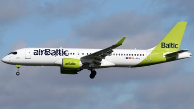 A picture of YLAAU - Airbus A220300 - Air Baltic - © Terry Wade