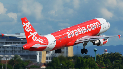 A picture of HSABS - Airbus A320216 - AirAsia - © SOMPOL JUNLAMART