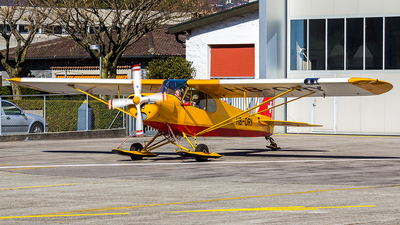 HB-ORY - Piper PA-18-180M Super Cub - Private