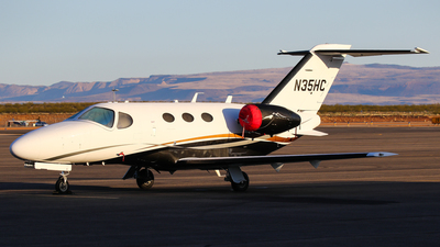 N35HC - Cessna 510 Citation Mustang - Private