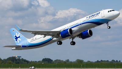 D-AYAS - Airbus A321-251N - Interjet