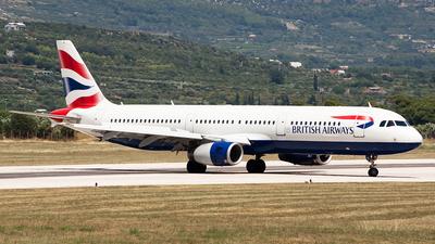 G-MEDL - Airbus A321-231 - British Airways
