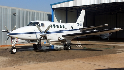 ZS-ABA - Beechcraft 100 King Air - Private