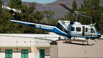N549RL - Bell 205A-1 - United States - San Diego County Sheriff