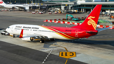 A picture of B5772 - Boeing 73787L - Shenzhen Airlines - © Turkish Planespotter