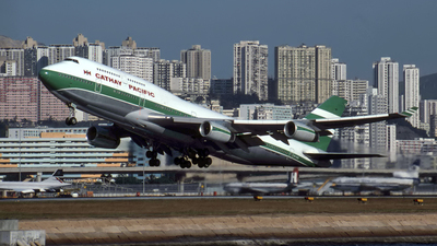 VR-HUG - Boeing 747-467 - Cathay Pacific Airways