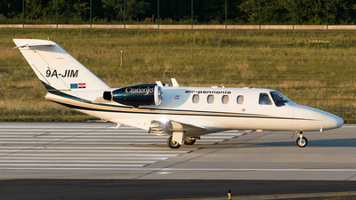 9A-JIM - Cessna 525 Citationjet CJ1 - Private