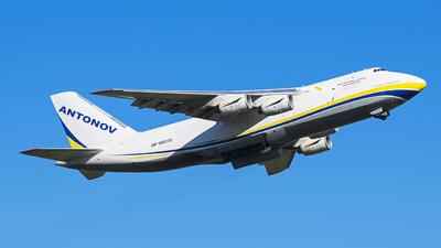 A picture of UR82072 - Antonov An124100150 - Antonov Design Bureau - © Enzo CATTANIA