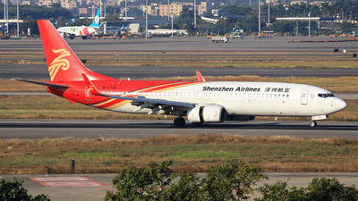 A picture of B1710 - Boeing 73787L - Shenzhen Airlines - © oneworld_Wang