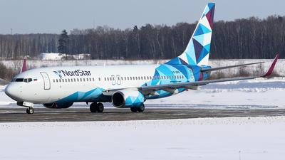 A picture of VQBNG - Boeing 73786J - NordStar - © BizavMen
