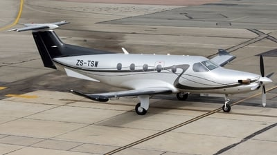 ZS-TSW - Pilatus PC-12/47E - Private