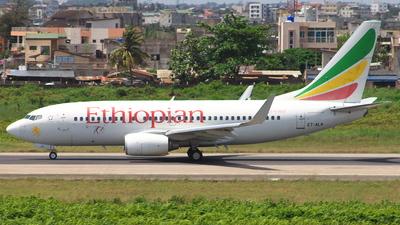 ET-ALN - Boeing 737-760 - Ethiopian Airlines