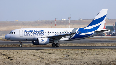 5A-WLC - Airbus A319-112 - Libyan Wings