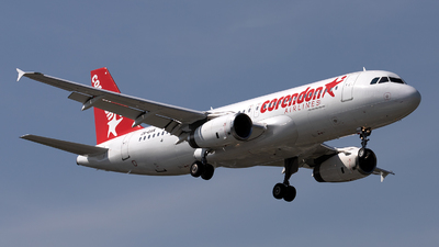 ZS-GAR - Airbus A320-231 - Corendon Airlines