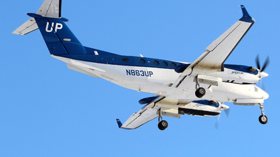 N863UP - Beechcraft B300C King Air 350C - Wheels Up