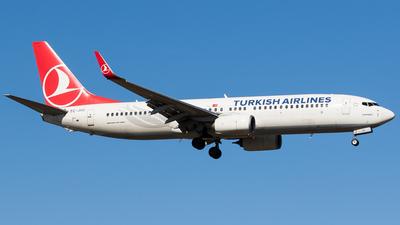 A picture of TCJVC - Boeing 7378F2 - Turkish Airlines - © Teemu Pesonen