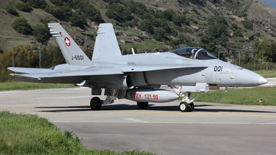 J-5001 - McDonnell Douglas F/A-18C Hornet - Switzerland - Air Force