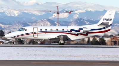 N716LD - Cessna 560XL Citation Excel - Delta Private Jets