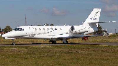 A picture of PRSMK - Cessna 680 Citation Sovereign - [6800252] - © raphacwb