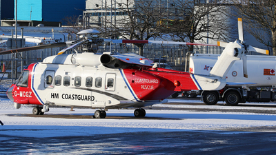 G-MCGZ - Sikorsky S-92 Helibus - Bristow Helicopters