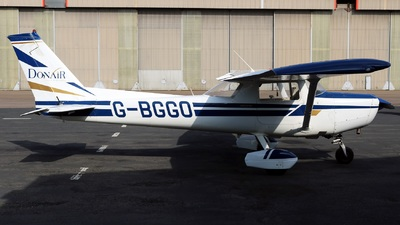 G-BGGO - Reims-Cessna F152 - Donair Flying Club